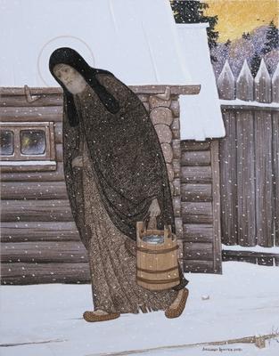 Житие преподобного Сергия Радонежского в живописи Александра Простева (фото, вид 2)