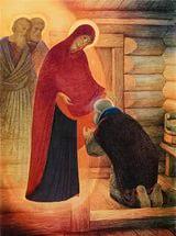 Житие преподобного Сергия Радонежского в живописи Александра Простева (фото, вид 3)